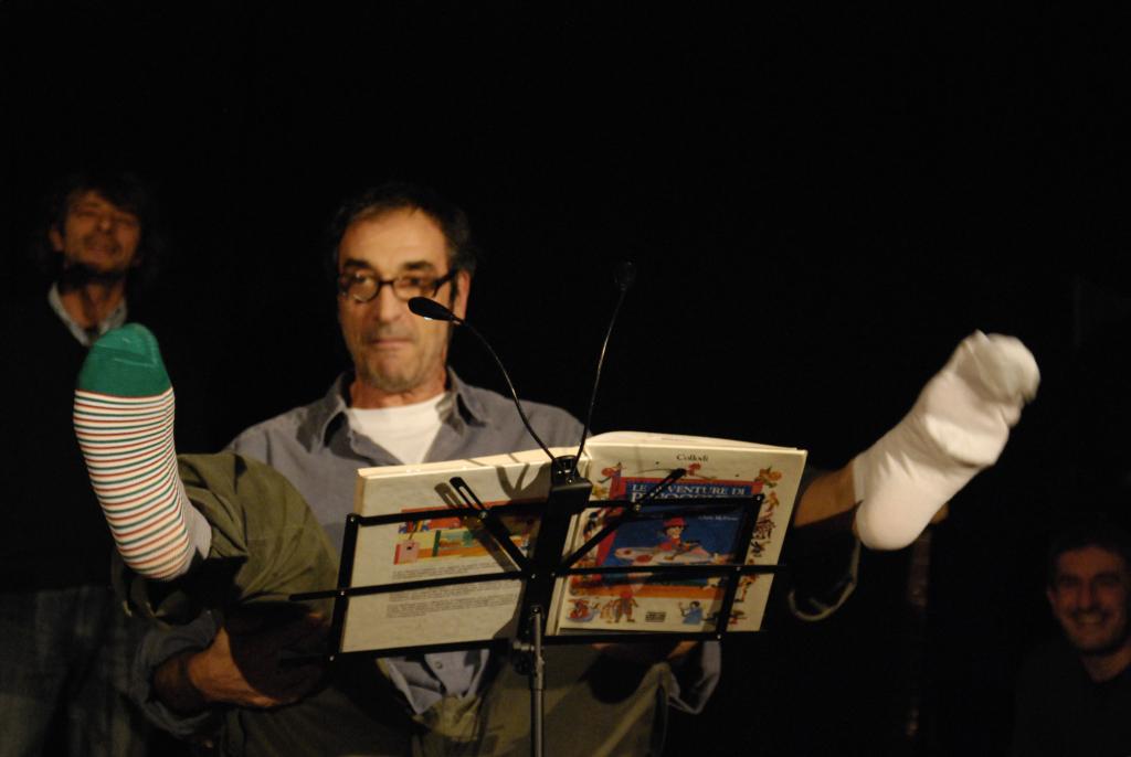 Oggi non so leggere (Pinocchio) TeatroGruppo Popolare