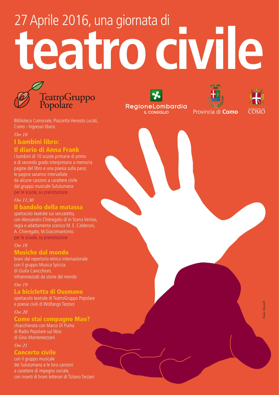 teatro civile 2016