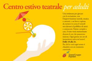 Teatro Estivo Adulti @ Piccola Accademia | Como | Lombardia | Italia