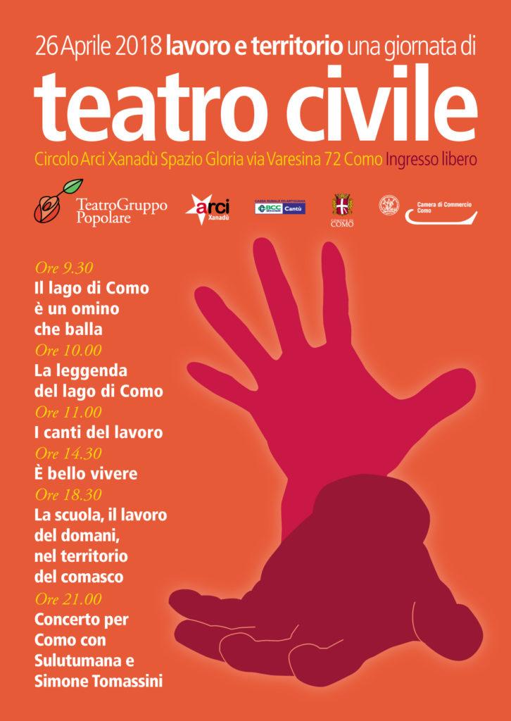 Una giornata di teatro civile IV edizione