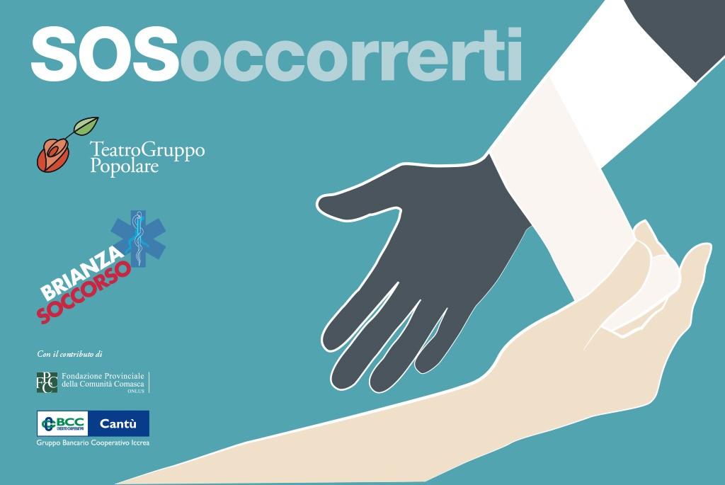 progetto SOSoccorrerti con il contributo di Fondazione Provinciale della Comunità Comasca onlus